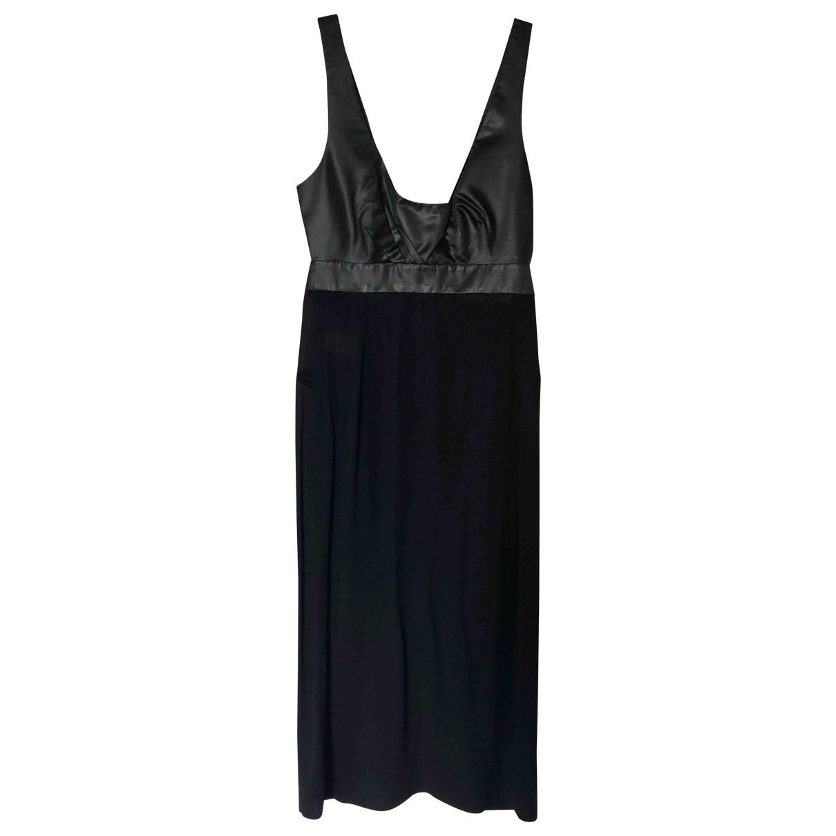 Narciso Rodriguez - Robe   pour femme en soie - noir