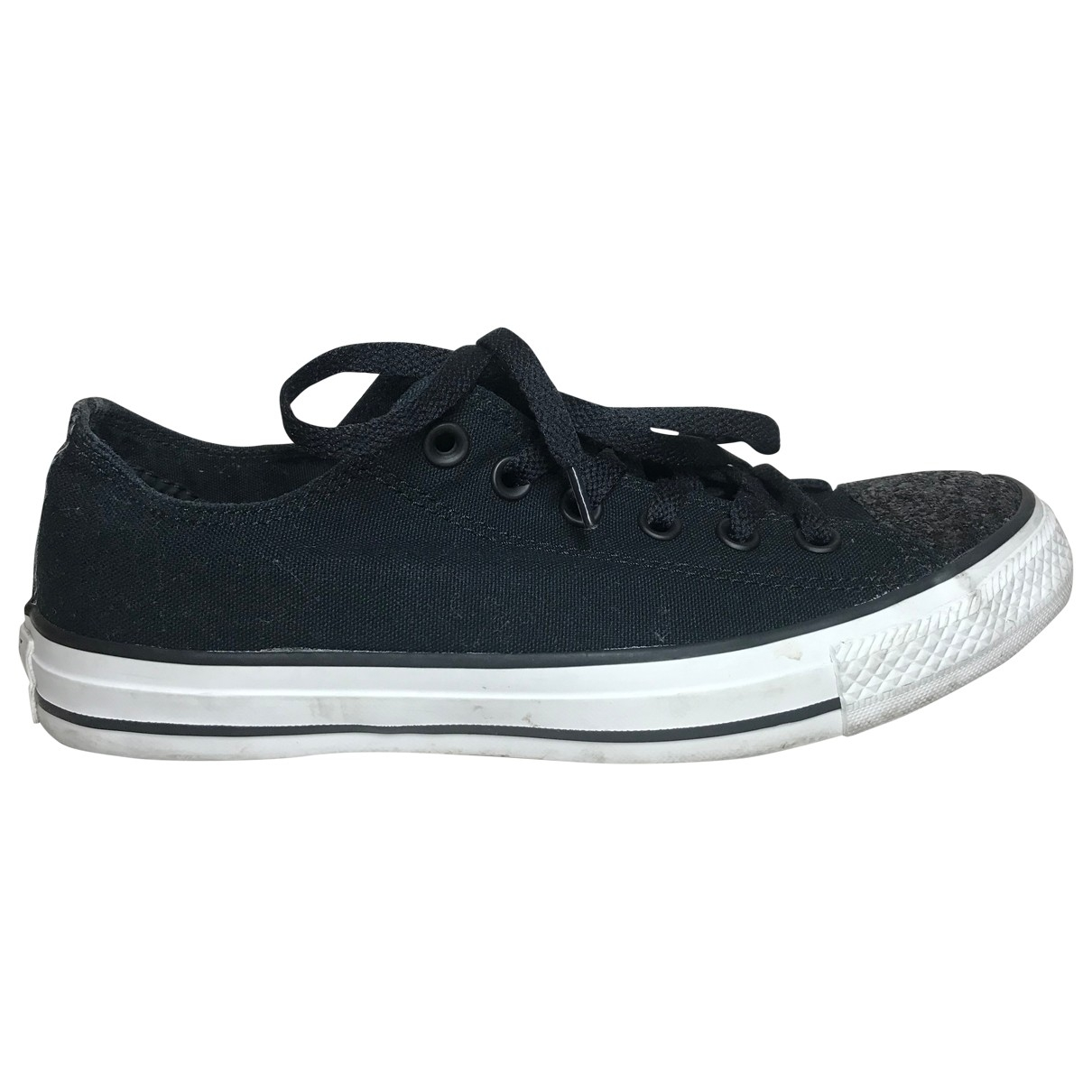 Converse \N Sneakers in  Schwarz Mit Pailletten