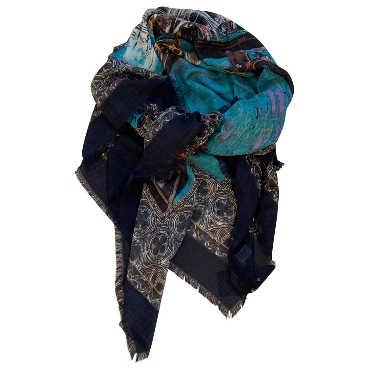 Dolce & Gabbana \N Blue Cashmere scarf for Women \N