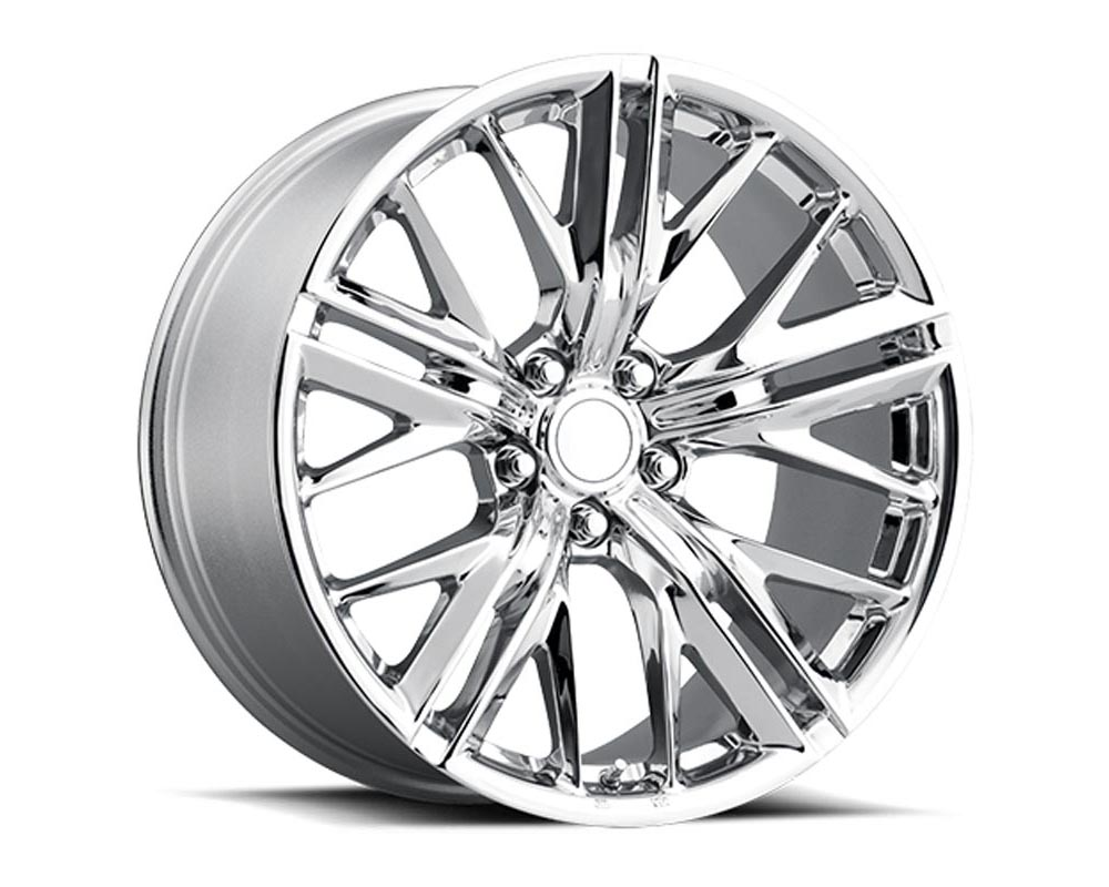Factory Reproduction Series 28 Wheels 20x9 5x120 +25 HB 66.9 2017 Zl1 Style 28 Chrome w/Cap