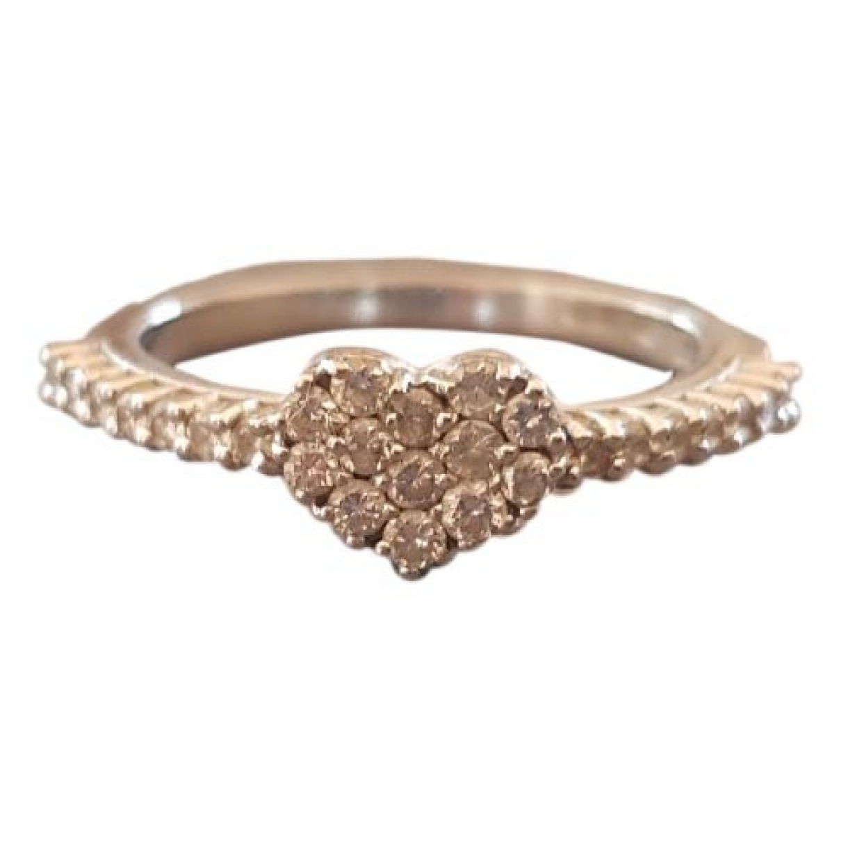 Pasquale Bruni \N Ring in  Silber Weissgold