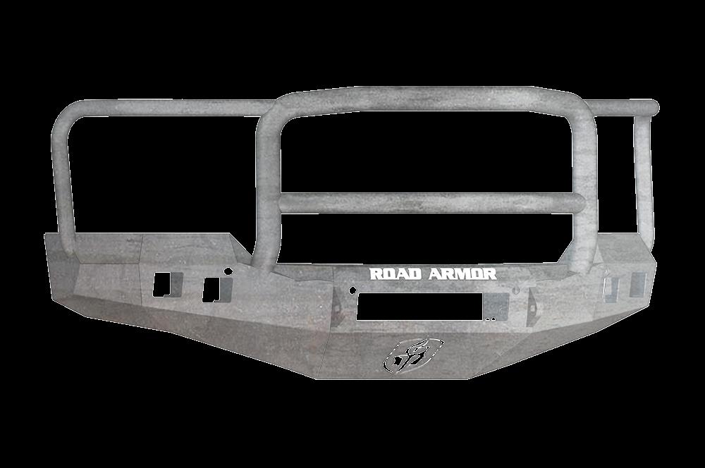 CHEVY 1500 SILVERADO 16-17 Front Stealth Non-Winch Bumper Square Light Port Lonestar Guard RAW Road Armor 316R5Z-NW