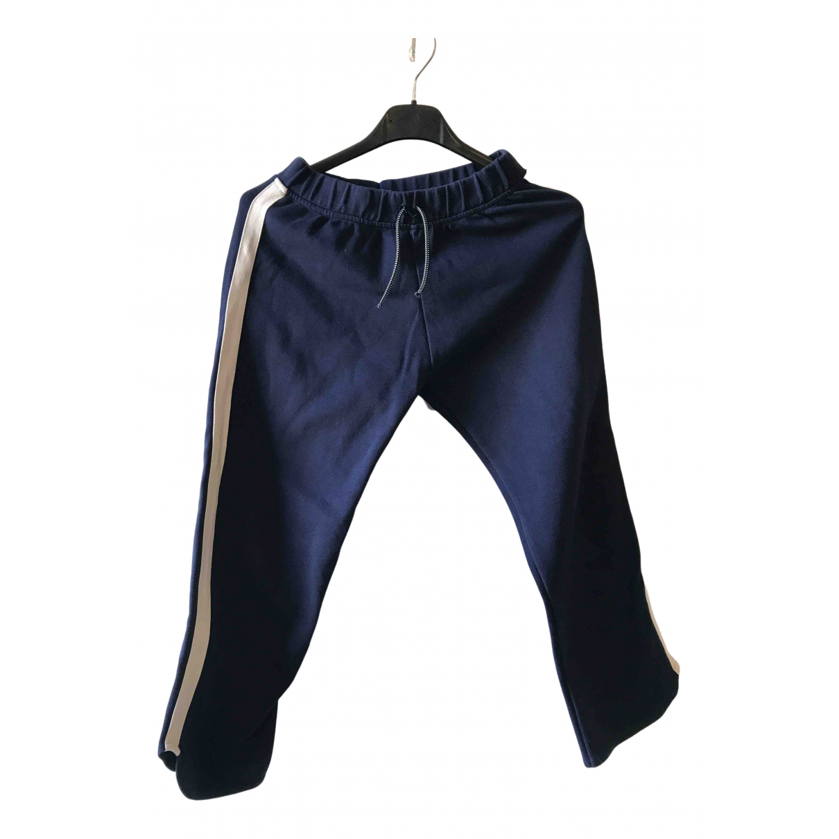 Zara - Pantalon   pour enfant en coton - bleu