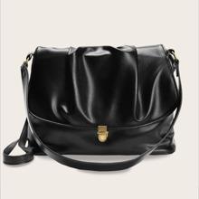 Minimalist Flap Tote Bag