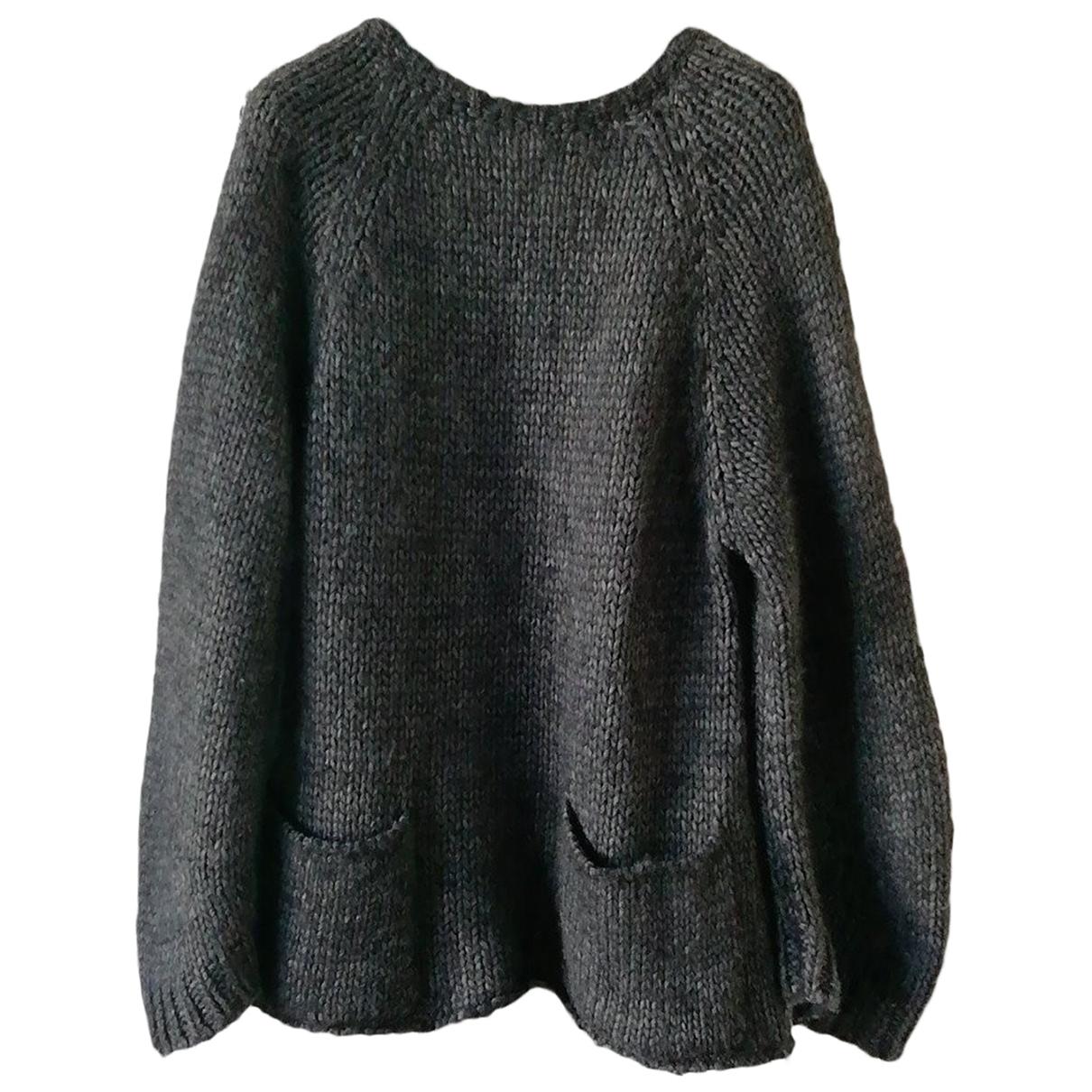 Dondup - Pull   pour femme en laine - gris