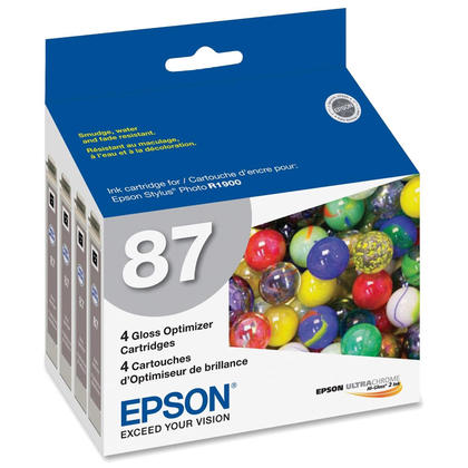 Epson T087020 Original Gloss Optimizer - 4/Pack