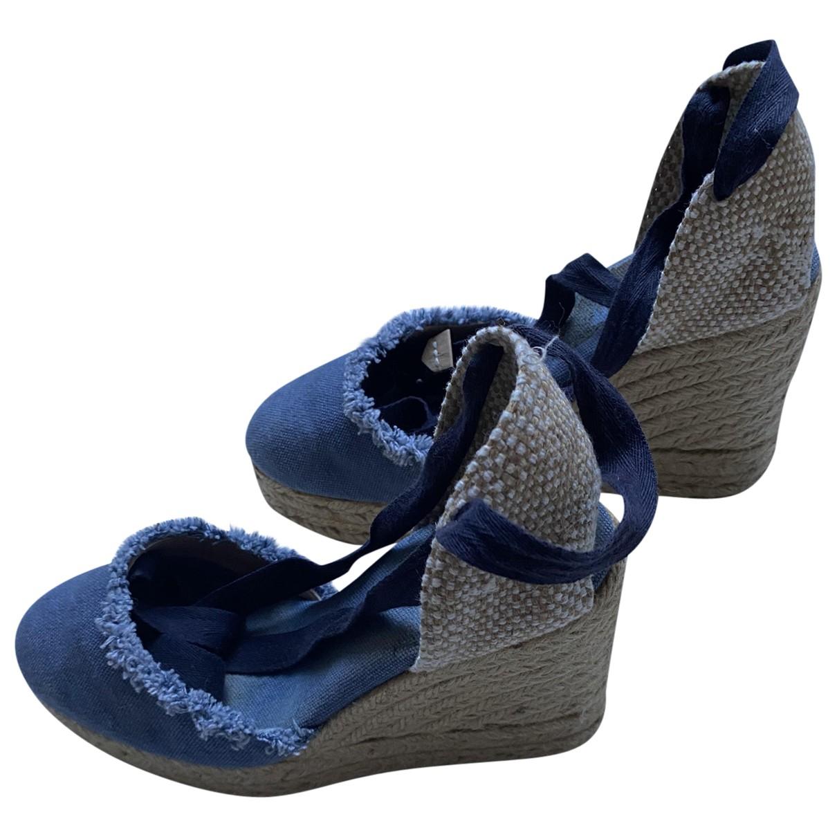 Castaner \N Espadrilles in  Blau Denim - Jeans