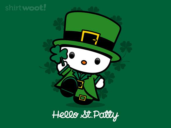 Hello Saint Patty T Shirt