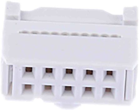 RS PRO 10-Way IDC Connector Socket for Cable Mount, 2-Row