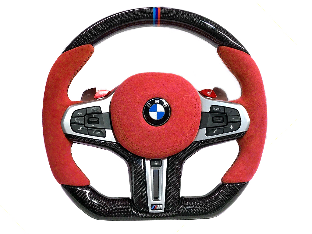 BMW 2 | 3 | 4 | 5 | 6 | X Series M Sport OEM Upgraded Customized Steering Wheel 2018-2020