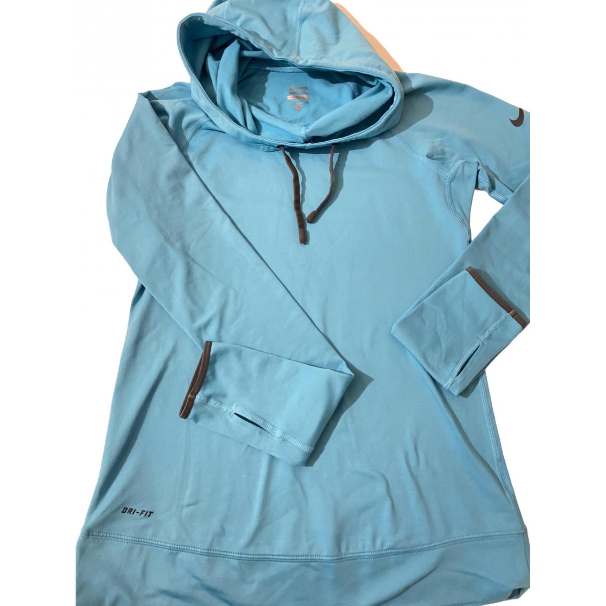 Nike - Pull   pour femme - bleu
