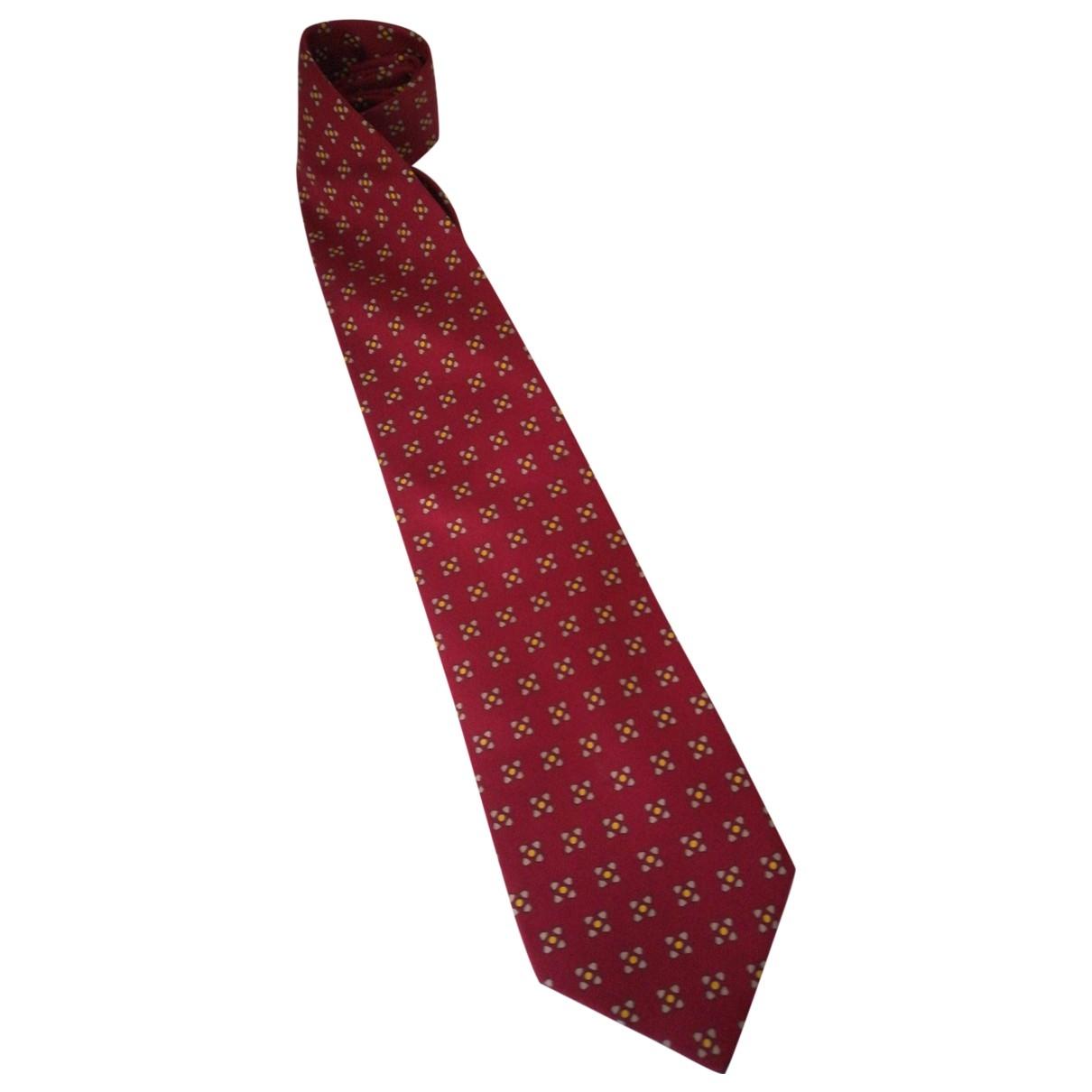 Etro \N Krawatten in  Rot Seide