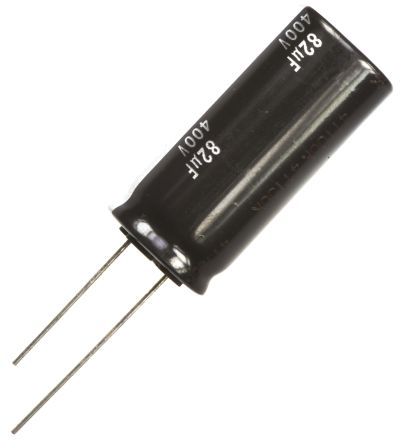 Panasonic 82μF Electrolytic Capacitor 400V dc, Through Hole - EEUED2G820 (5)