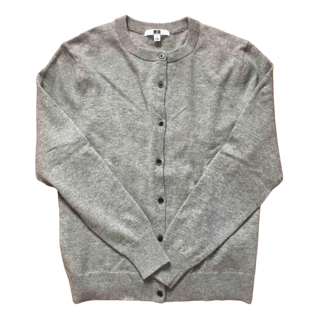 Uniqlo \N Grey Cashmere Knitwear for Women 36 FR