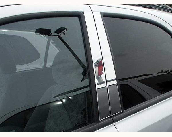 Quality Automotive Accessories 4-Piece Pillar Post Trim Kit Kia Sorento 2004