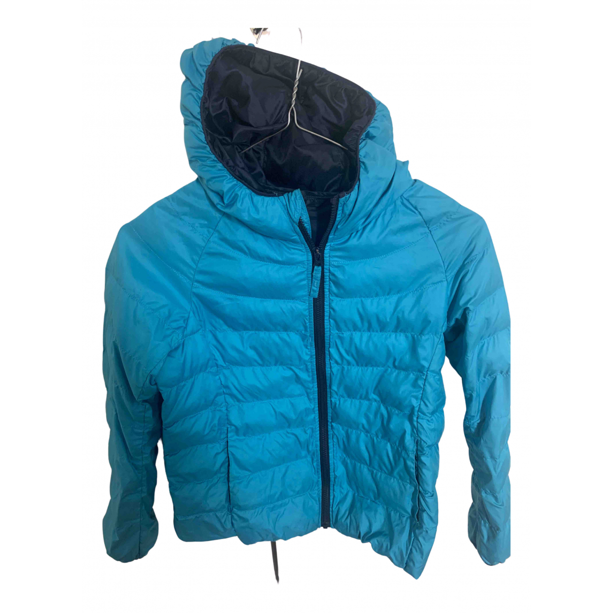 Uniqlo N Turquoise jacket & coat for Kids 8 years - up to 128cm FR