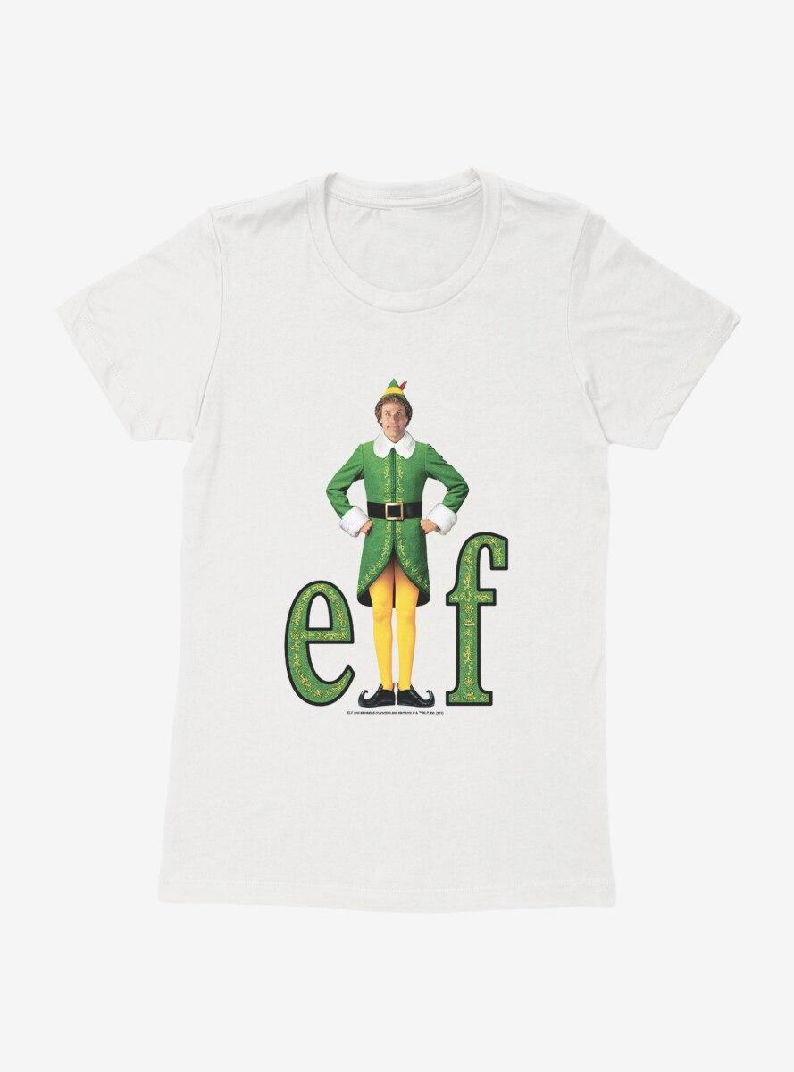 Elf Classic Logo Black Trace Womens T-Shirt