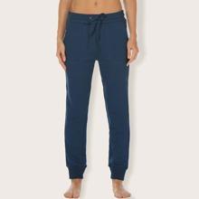 Sports Hose mit Kordelzug um die Taille und schraegen Taschen