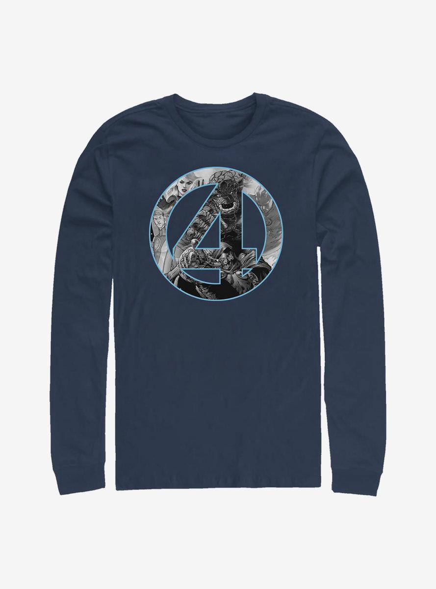 Marvel Fantastic Four Badge Long-Sleeve T-Shirt