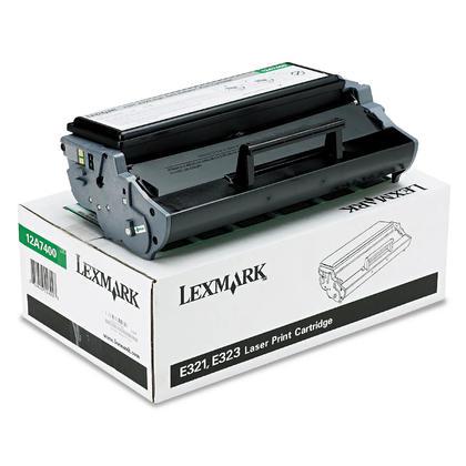 Lexmark 12A7400 Original Black Return Program Toner Cartridge