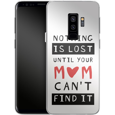 Samsung Galaxy S9 Plus Silikon Handyhuelle - Nothing is Lost von caseable Designs