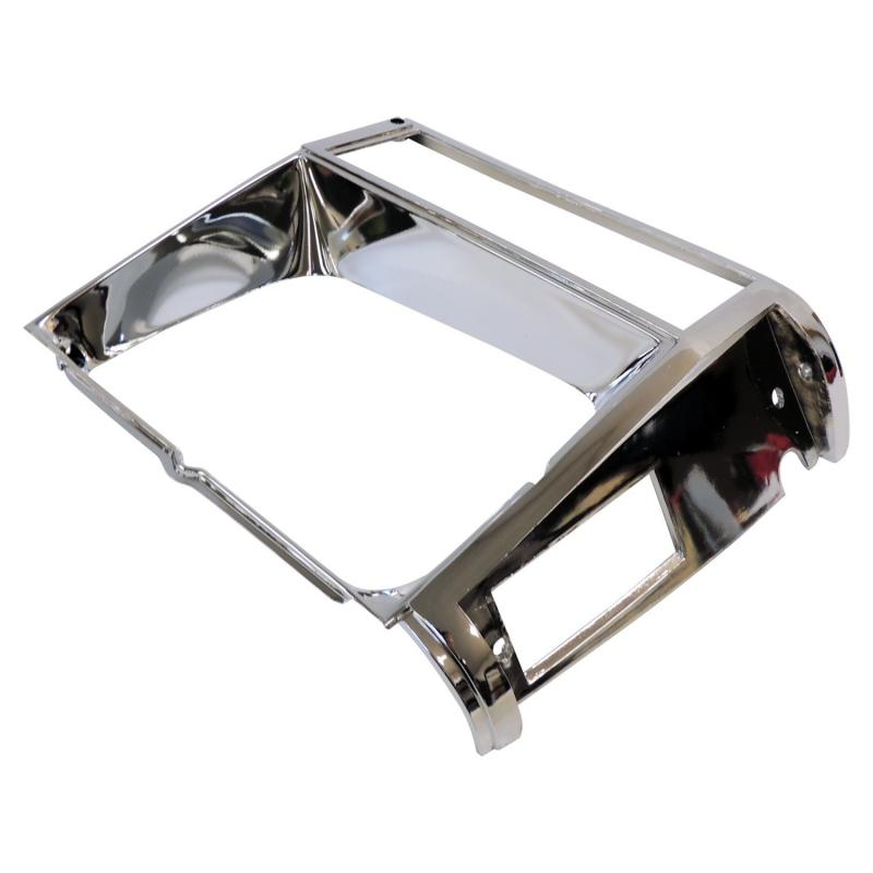 Crown Automotive 55002244 Jeep Replacement Right Chrome Headlight Bezel for 84/90 XJ Cherokee & MJ Comanche Jeep Right