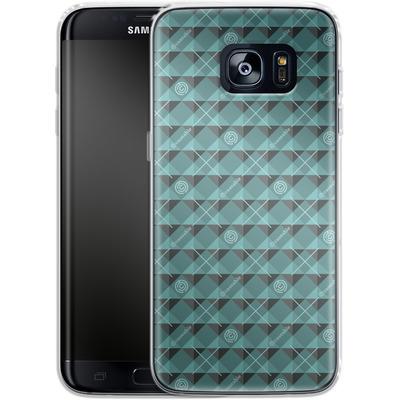 Samsung Galaxy S7 Edge Silikon Handyhuelle - caseable Pattern von caseable Designs