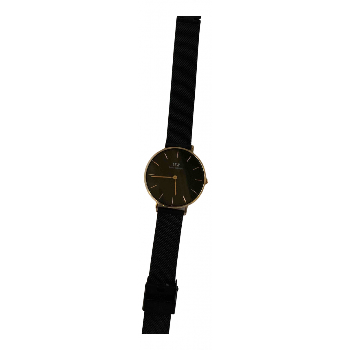 Daniel Wellington N Black Steel watch for Women N