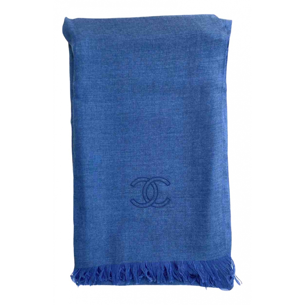 Chanel \N Blue Cashmere scarf for Women \N
