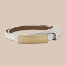 Metal Decor PU Belt