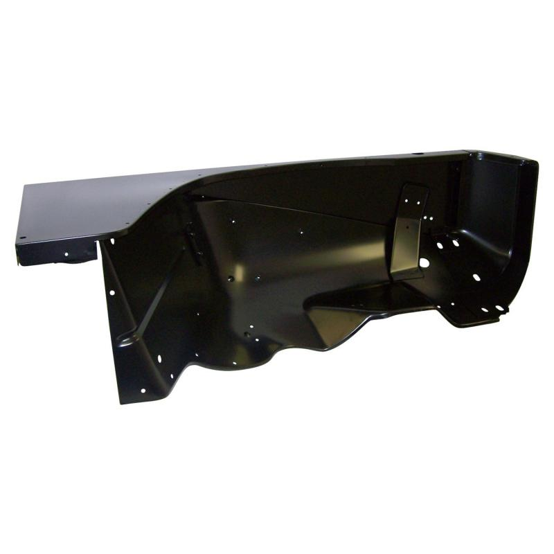 Crown Automotive 55013514 Jeep Replacement Fender, Right, Black Jeep Wrangler Front Right 1987-1995