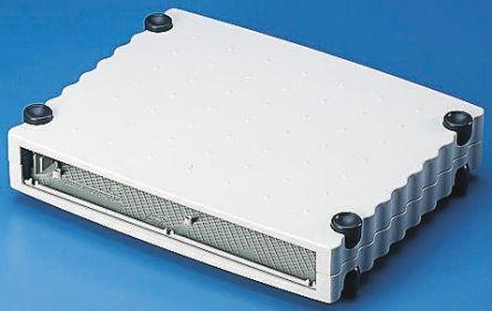 Rose Wavetronic, Aluminium, 268 x 324 x 147mm Desktop Enclosure, Black, Grey