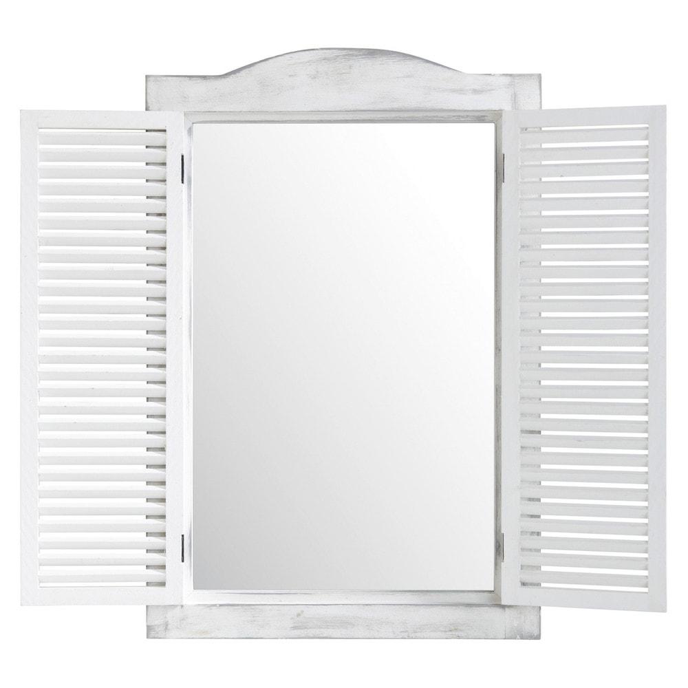 Fensterspiegel 47x71, weiss
