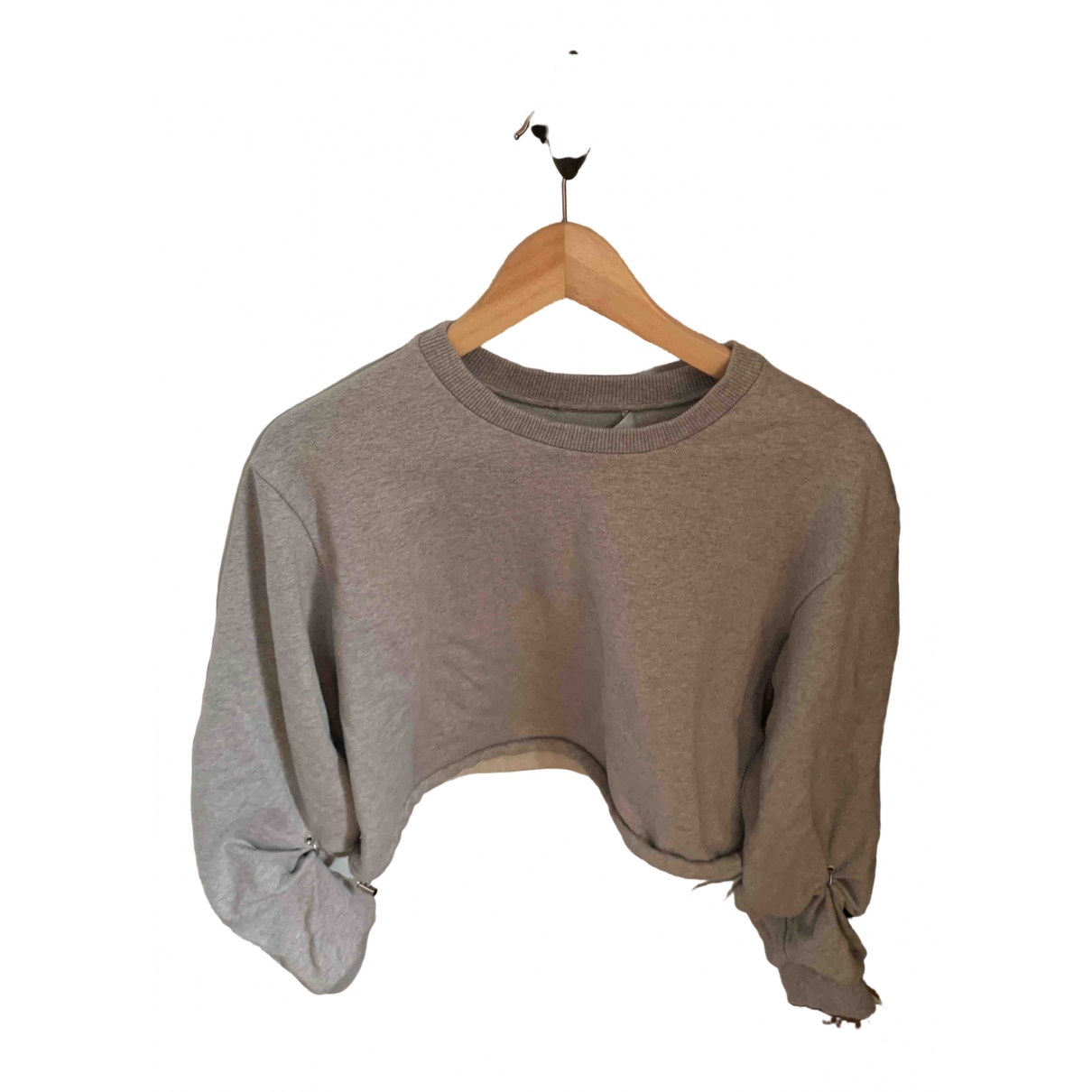 3.1 Phillip Lim \N Grey Cotton Knitwear for Women L International