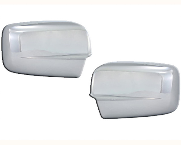 Quality Automotive Accessories Chrome Plated ABS Plastic 2-Piece Mirror Cover Set Dodge Ram 1500 2010