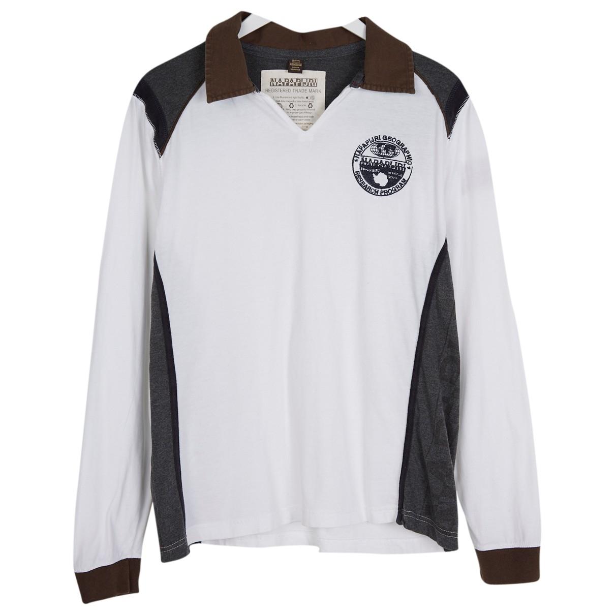 Napapijri - Polos   pour homme en coton - blanc