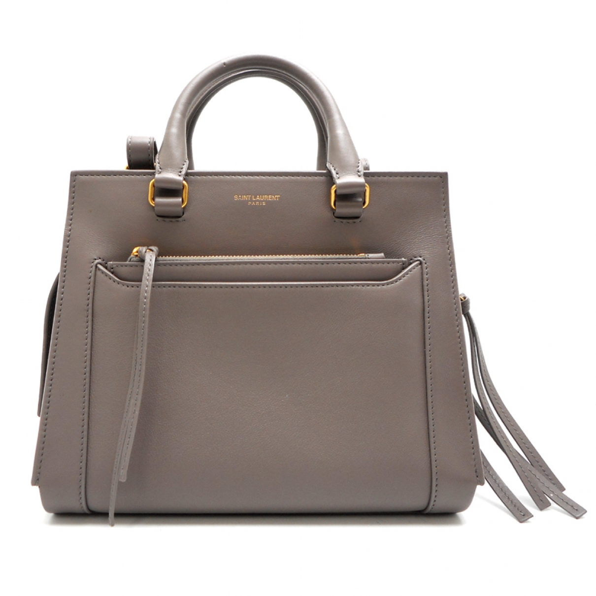 Saint Laurent East Side Beige Leather handbag for Women \N
