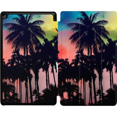 Amazon Fire HD 8 (2018) Tablet Smart Case - Palm Trees at Sunset von Mark Ashkenazi