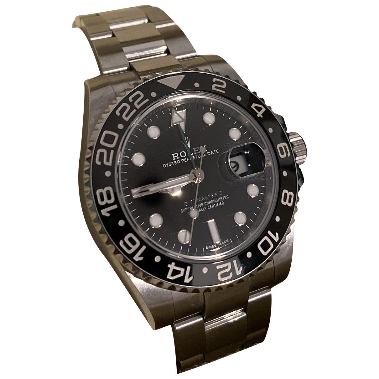 Rolex - Montre GMT-Master II pour homme en acier - noir