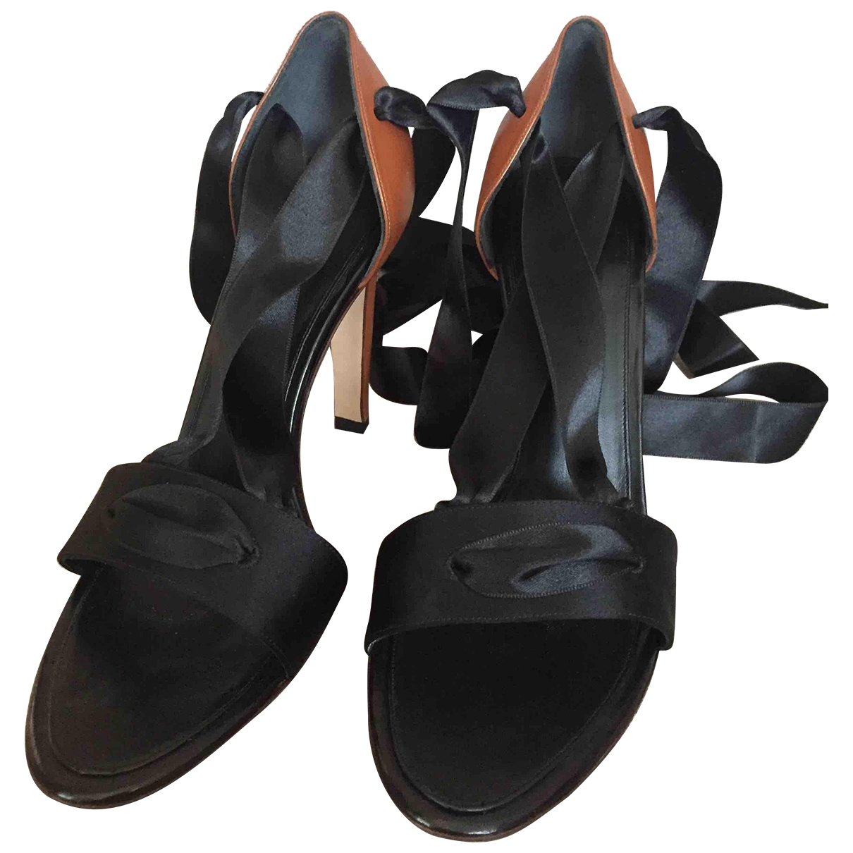 Sandalias romanas de Cuero Yves Saint Laurent