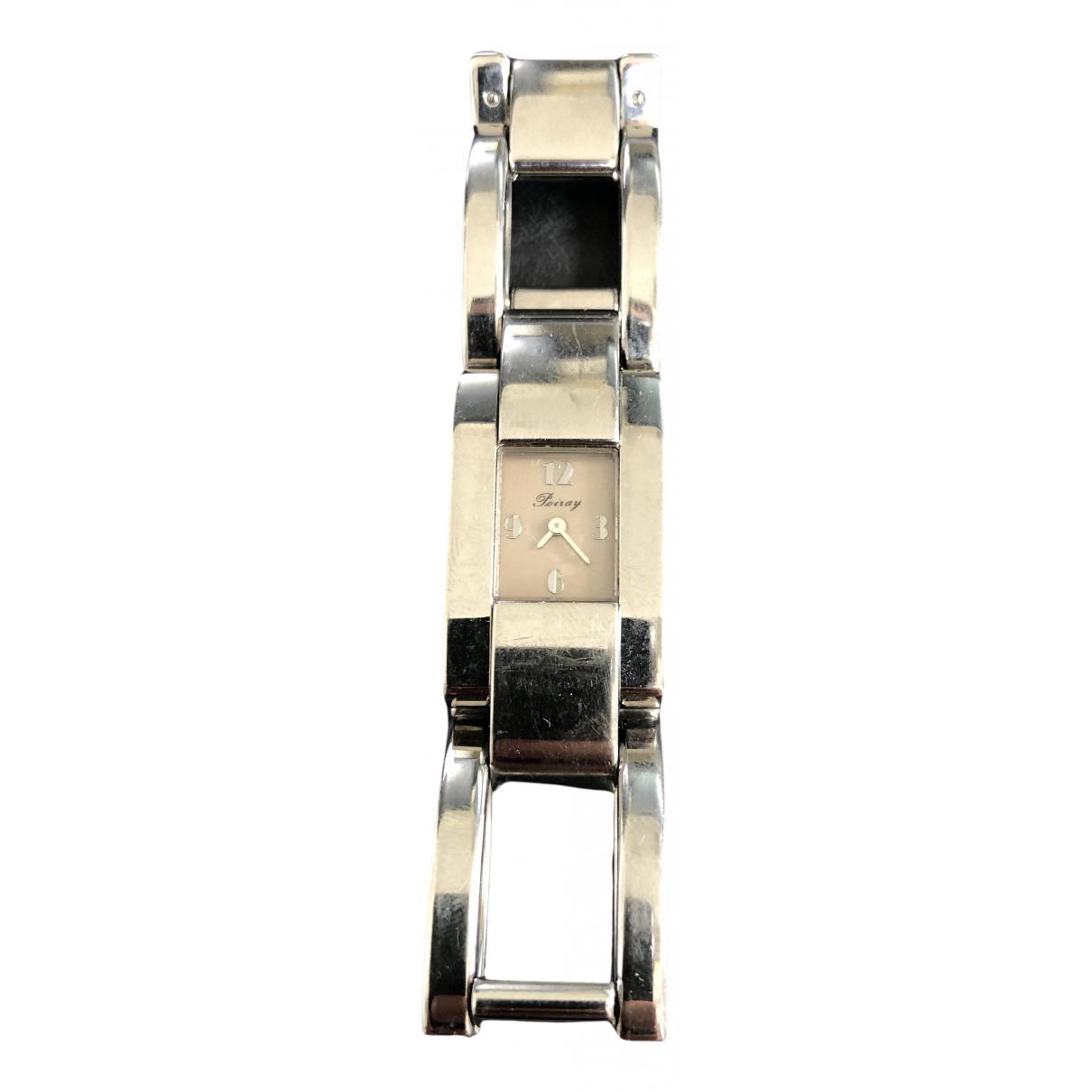 Poiray \N Uhr in  Silber Silber