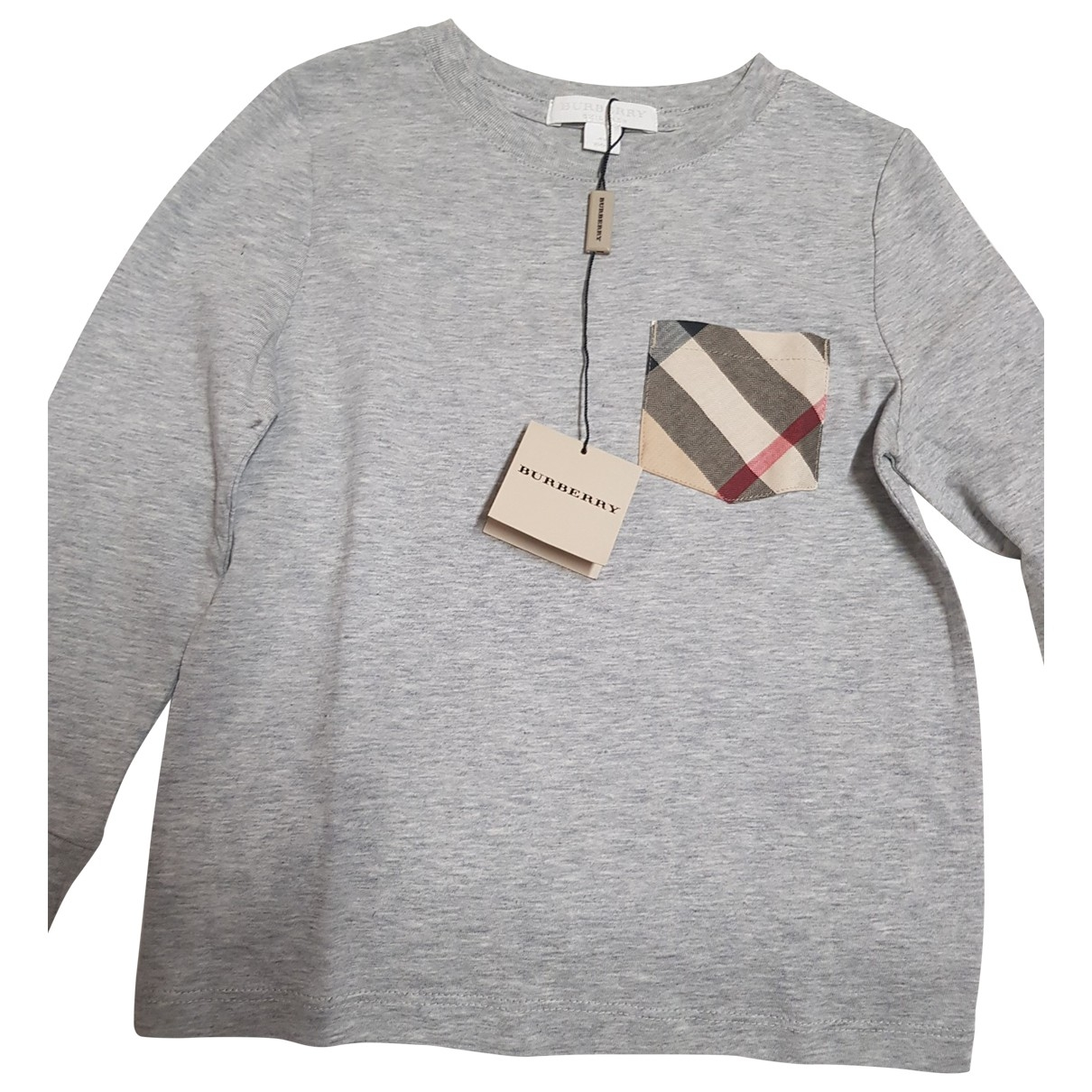Burberry \N Grey Cotton Knitwear for Kids 4 years - up to 102cm FR
