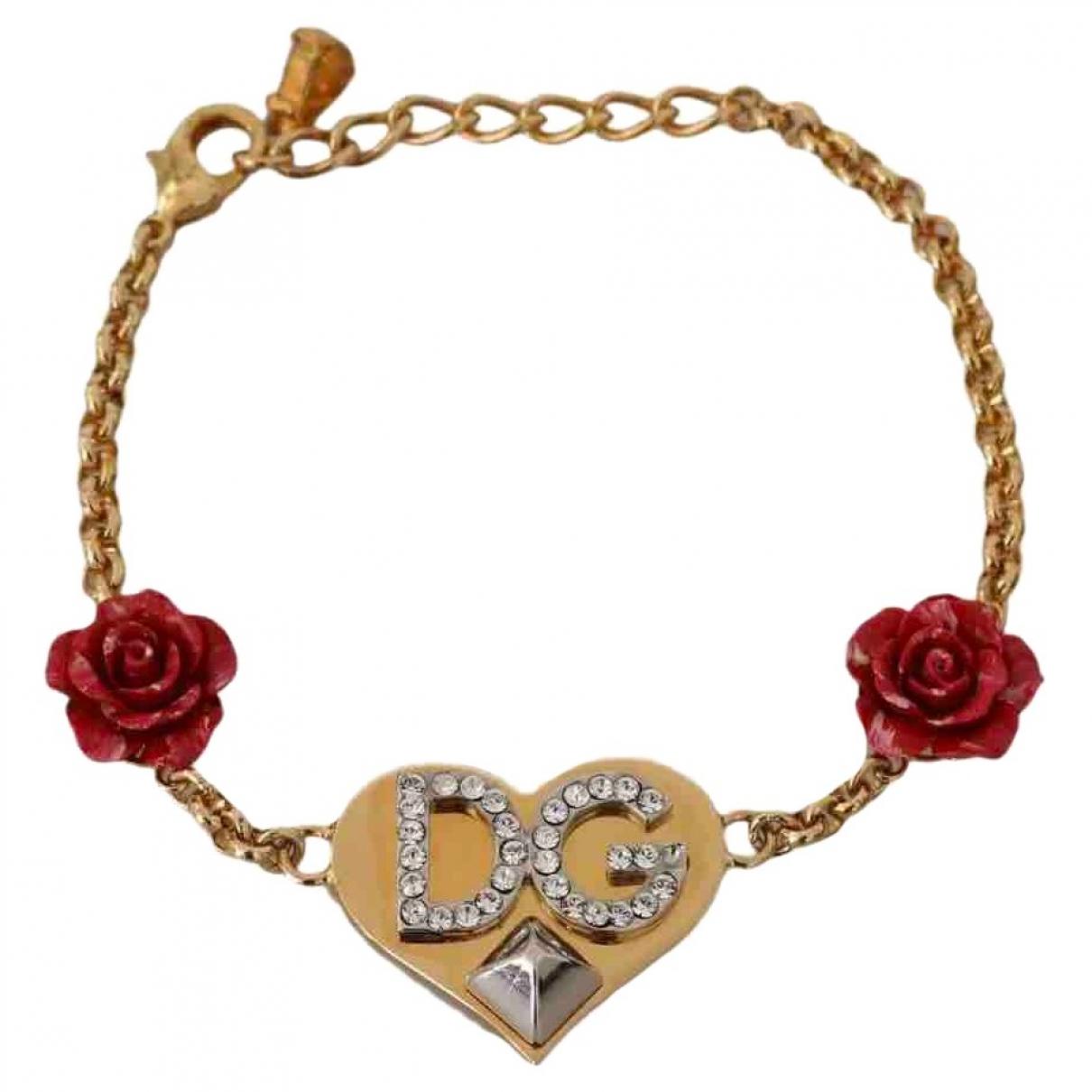 Dolce & Gabbana \N Gold Crystal bracelet for Women \N
