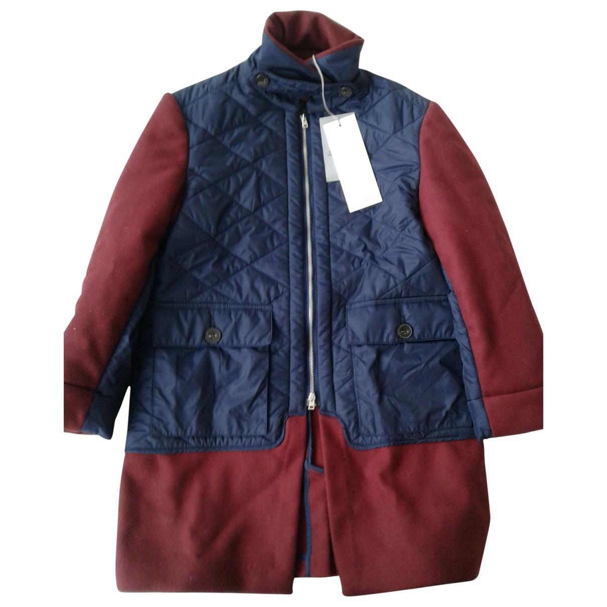 Marni - Blousons.Manteaux   pour enfant en laine - bordeaux