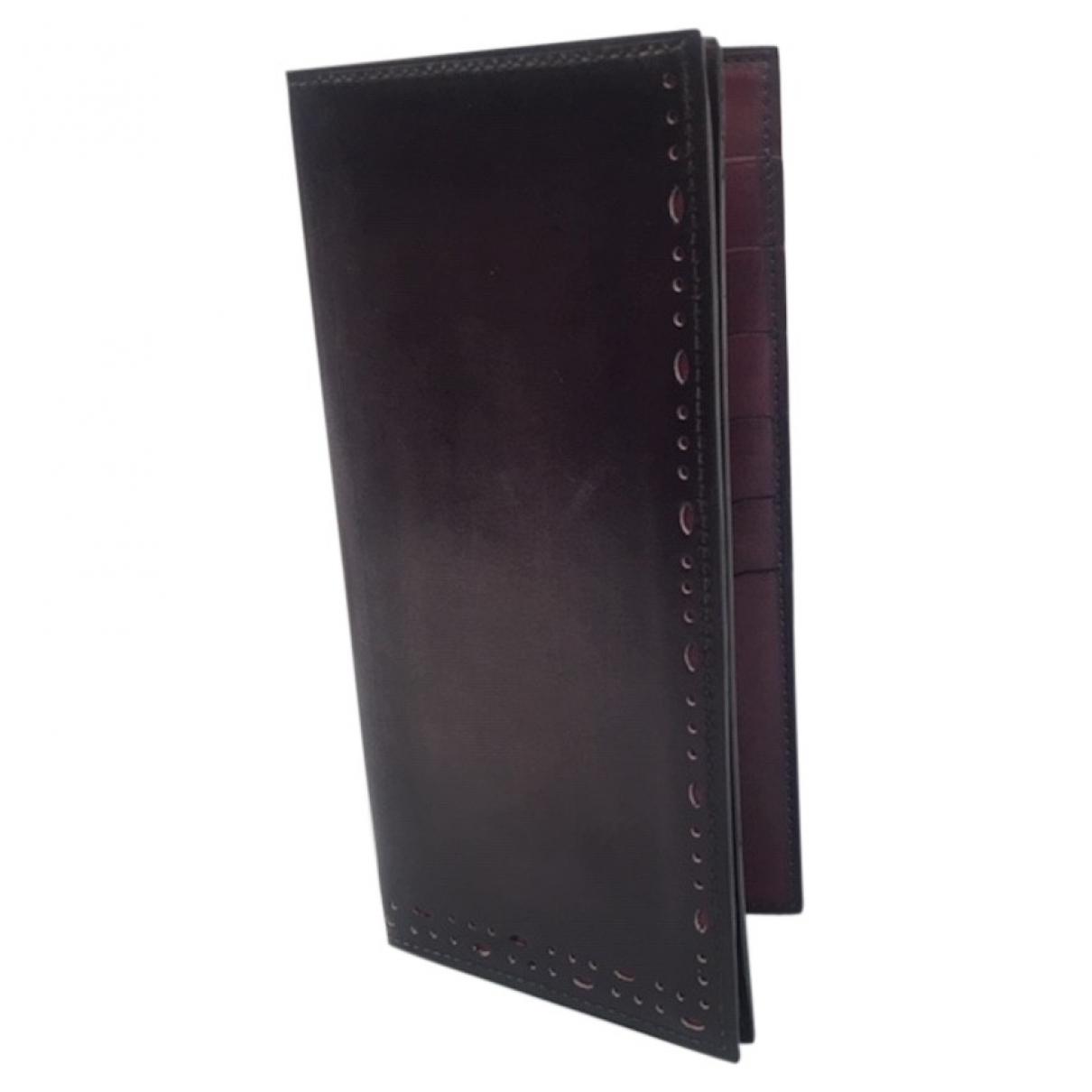 Berluti - Petite maroquinerie   pour homme en cuir - violet