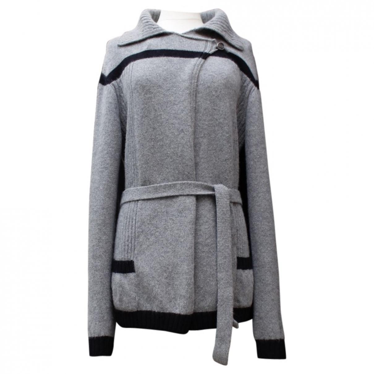 Chanel \N Grey Wool Knitwear for Women 48 FR
