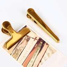 1 Stueck Metall zufaellige Ticketclip