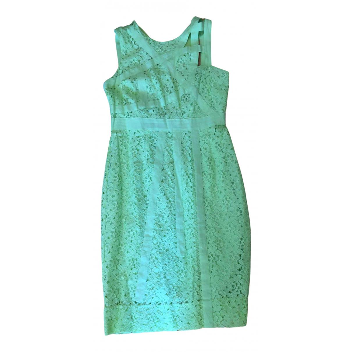 Asos - Robe   pour femme en coton - vert
