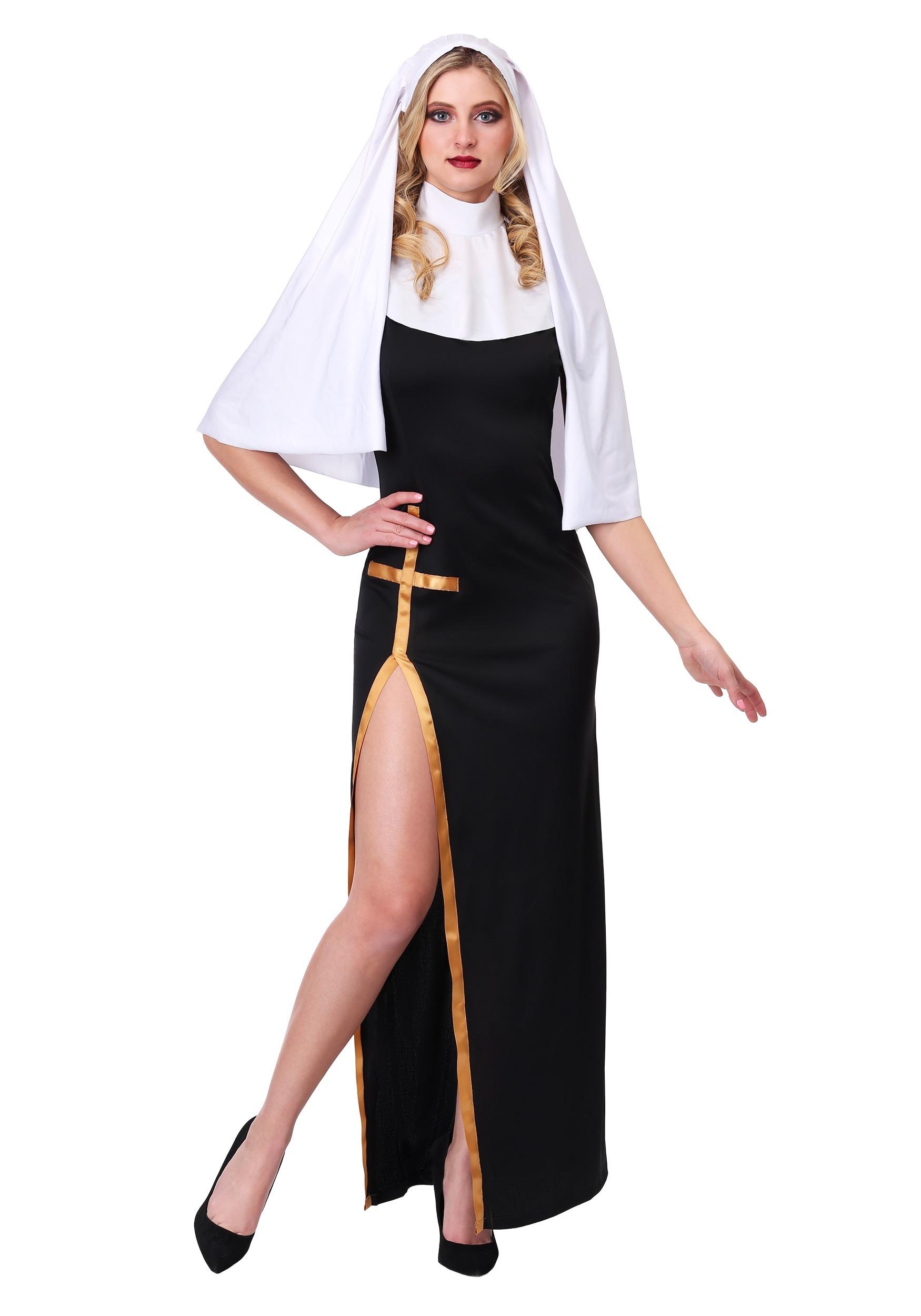 Women's Holy Nun Costume