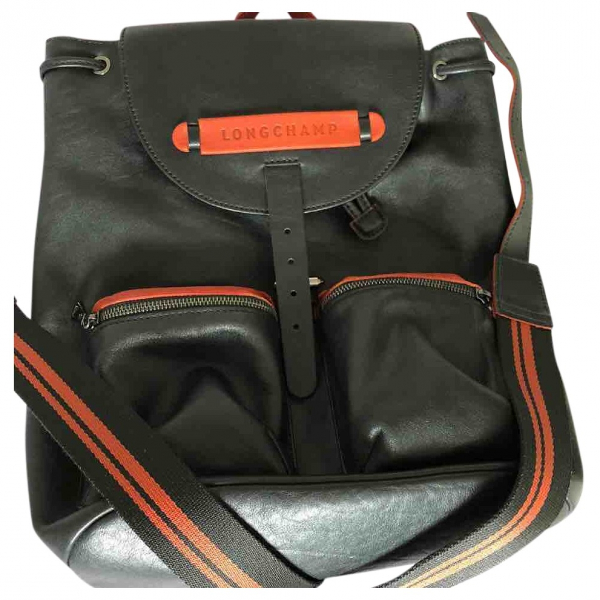 Longchamp \N Black Leather bag for Men \N